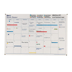 Map Marketing Monthly Planner MP
