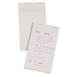 Select Triplicate Service Pad 95x170mm