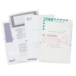 PressSeal Form V-fold A4 Wdw Blu (1000)