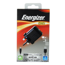 Energizer Micro USB Mains Charger