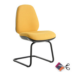Jota Cantilever Visitors Chair No Arms
