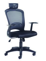Solaris Mesh Managers Chair Black