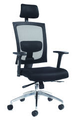 Gemini 300 Mesh Task Arm Chair Hrest Blk