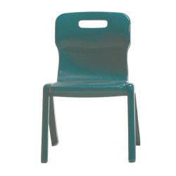 Titan One Piece School Chair 380mm Green