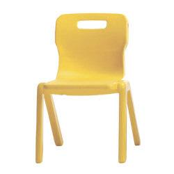 Titan One Piece School Chair 380mm Ylw