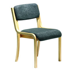 Prague Conference Chair Wood/Char