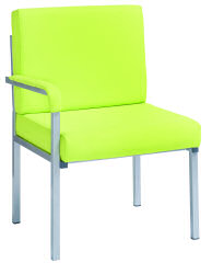 Innsbruck Reception Chair Right Arm Blu