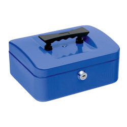 Select Cash Box 152mm Blue