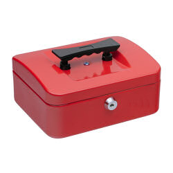 Select Cash Box 152mm Red
