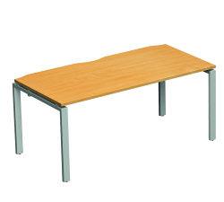 Adapt II Bench Desk 1600x800 Wht/Wht