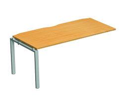 Adapt II Add On Desk 1400x600 Wht/Wht