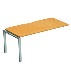 Adapt II Slide AddOn Desk 1200mm Wht/Wal