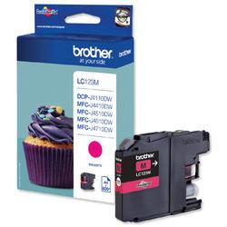 Brother Ink Cart HCap Magenta LC123M