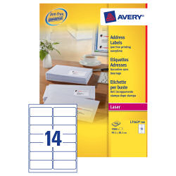 Avery Laser Lab 99.1x38.1 (500) L7163