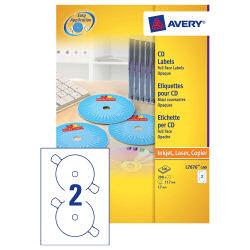 Avery FF CD Labels (100) L7676