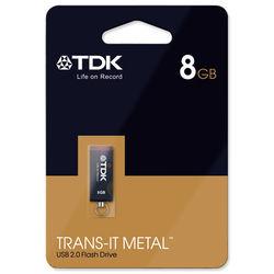 TDK Trans-it USB Drive 8GB Blk t78659