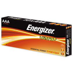 Energizer Ultra+ Batt AAA (10) 637533