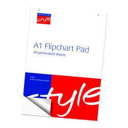 O/Style Flipchart Pad 40 Sheet A1