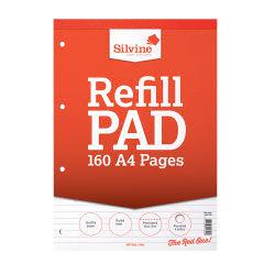 Silvine Rfl Pad A4 Feint Ruled A4RPF