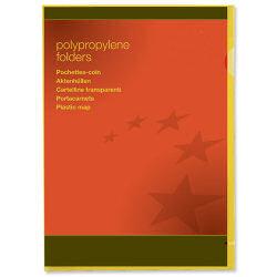 Select Plastic Folders A4 Yellow (25)