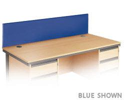 Maestro Desk Screen 1524x350 Charcoal