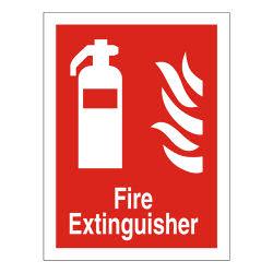 Fire Extinguisher Sign 150x200 SAV