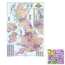 British Isles Counties Map  BIC