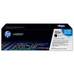 HP No.125A Toner Cart Black CB540A