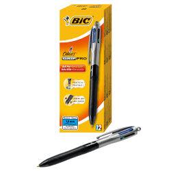 BIC 4-Colours Grip Pro Ball Pen 892293